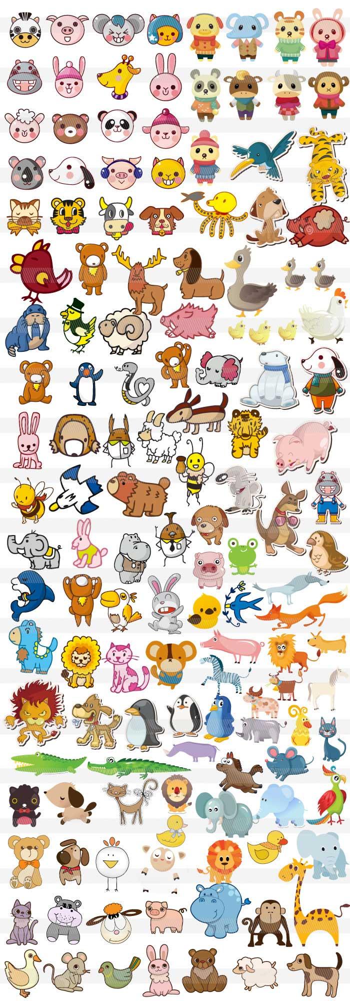 動物のキャラクター1