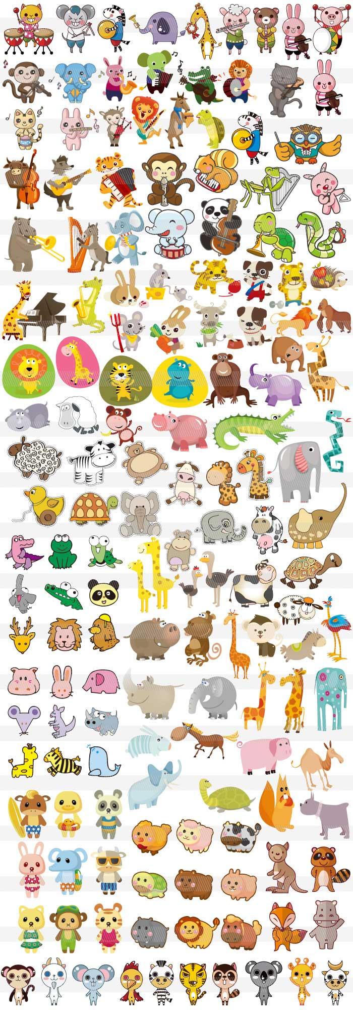 すべての折り紙 羊の折り紙 : 動物のキャラクター2 商用OKな ...