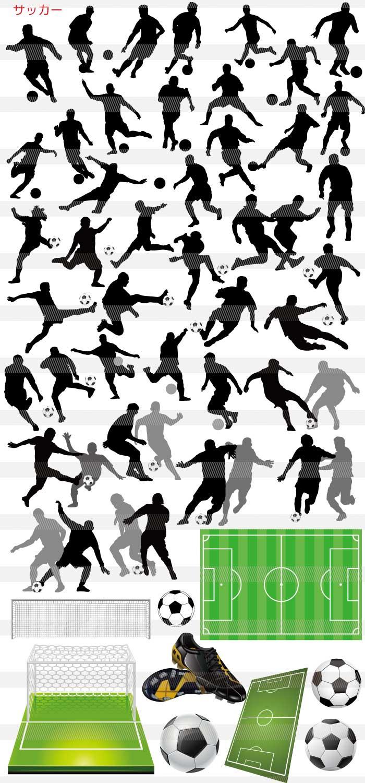 サッカー・シュート・サッカーボール・スパイク 野球・サッカー・テニスのイラスト|イラストレーター
