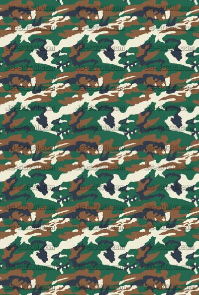 迷彩柄模様のパターン背景