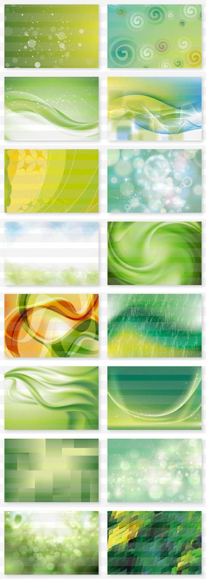 緑のイラスト背景素材
