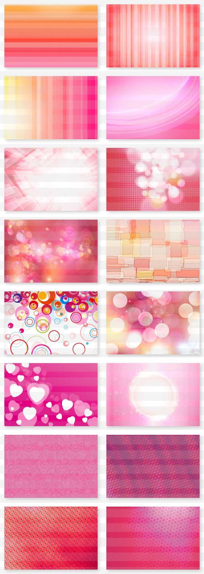 ピンクと紫のイラスト背景素材|イラストレーター素材(ai・eps・商用可能)