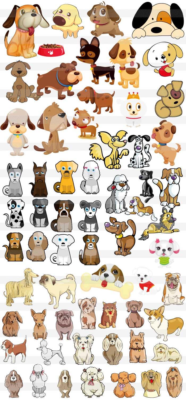 犬のシルエットの無料イラスト|ai・epsの無料イラストレーター素材