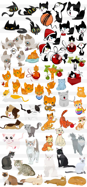 猫の無料シルエット|ai・epsの無料イラストレーター素材なら無料