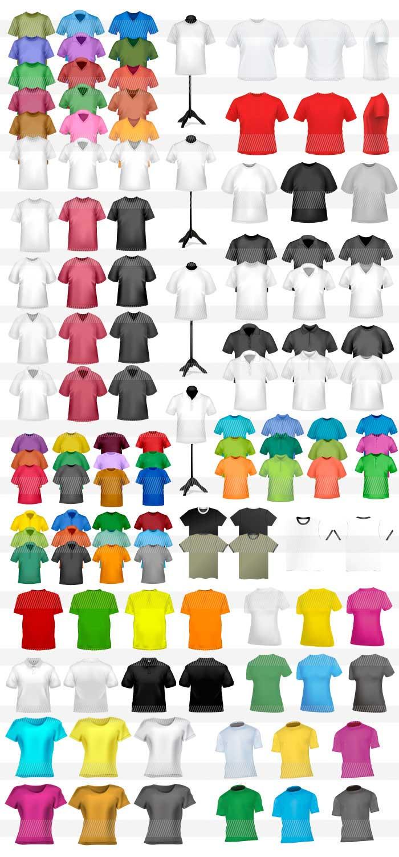Tシャツ・洋服・靴のイラスト