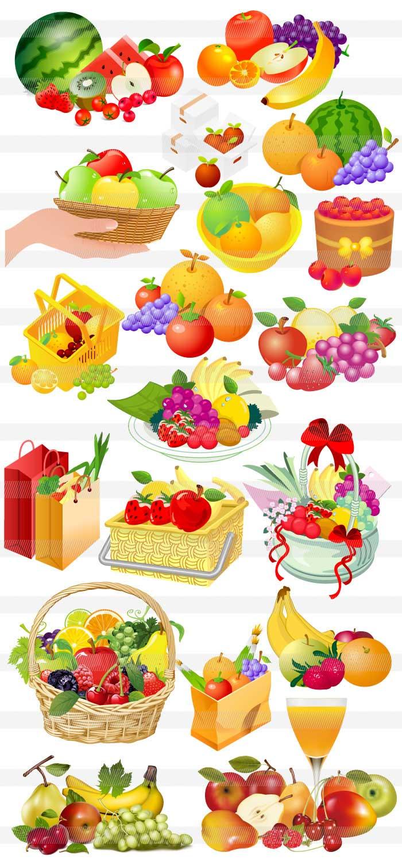 果物フルーツのイラストイラストレーター素材aieps商用可能