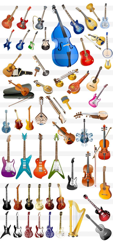 楽器・音符・音楽のイラスト