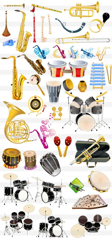 楽器・音符・音楽のイラスト|イラストレーター素材(ai・eps・商用可能)
