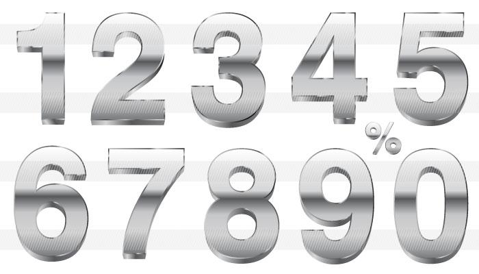 花 折り紙 立体 花 折り紙 : 色々な数字のイラスト|商用OK ...
