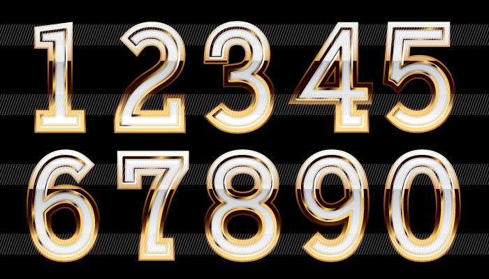 色々な数字のイラスト|商用OK ...