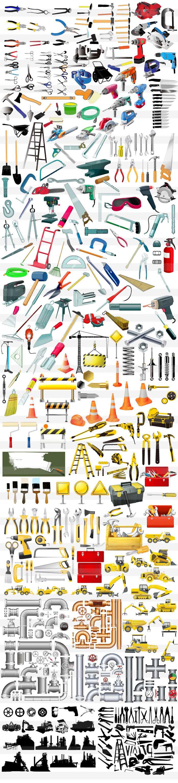工具・工事のイラスト