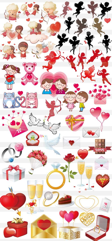 バレンタインのイラスト
