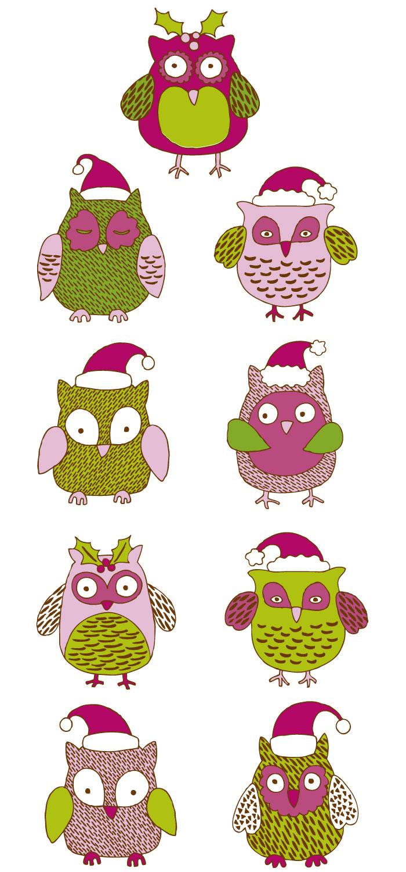 可愛いフクロウのキャラクターの無料イラスト|イラストレーター素材(ai
