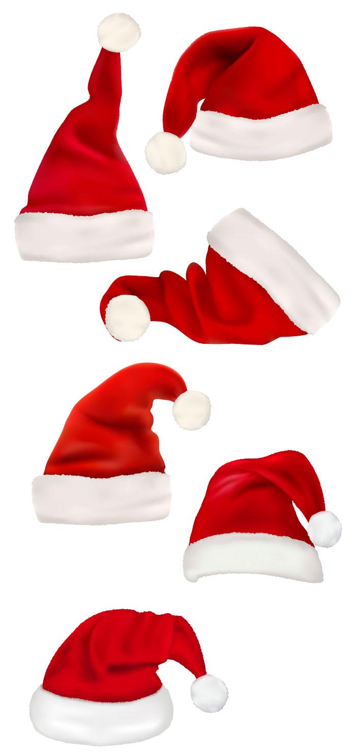 すべての折り紙 クリスマスカード 折り紙 : サンタクロースの帽子の無料 ...
